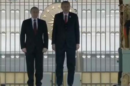 普京访问土耳其