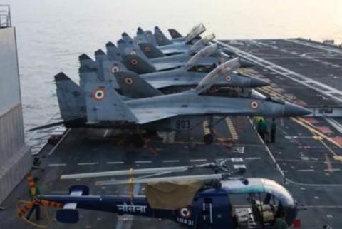 俄制舰载机成不定时炸弹,印度直言被坑了