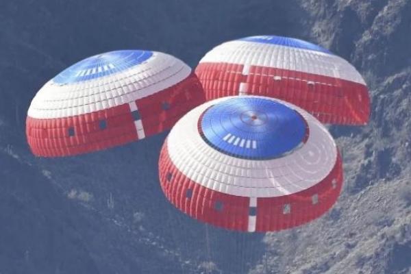 NASA语ESA联手测试高科技火星降落伞