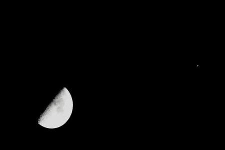 明晚木星合月天象,大个子托举月姑娘