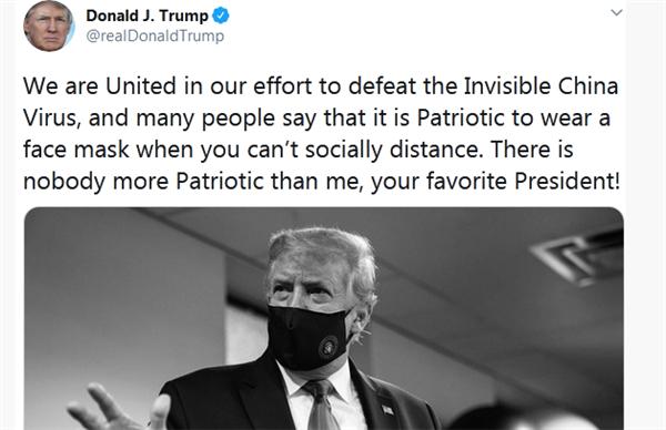 特朗普再提中国病毒,美国疫情与选举统统回天乏术