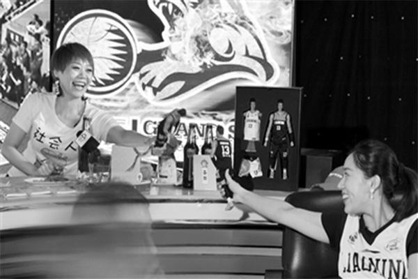 杭州女球迷表白辽篮,总决赛,辽宁男篮